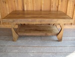 44 Chestnut Rafter Tail Coffee Table 002