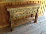60 Oak Sideboard